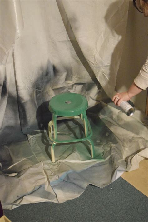 spray painting play diy play table our house now a home