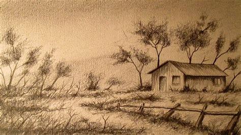 imagenes para dibujar a lapiz de paisajes c 243 mo dibujar un paisaje a l 225 piz paso a paso aprender a