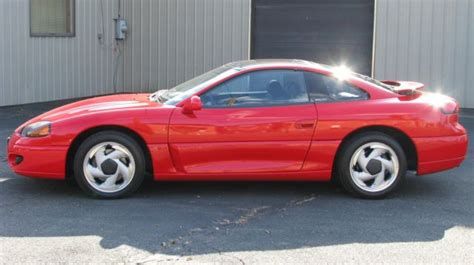 1994 dodge stealth r t 55 000 miles red 2 door v6 cylinder engine manual classic dodge stealth