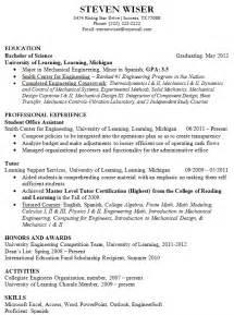 Resume Examples For College Graduates 12 College Fresh Graduate Resume Samples Easy Resume