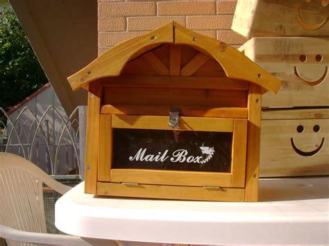 cassetta lettere legno cassette postali oggetti per la casa cassetta postale