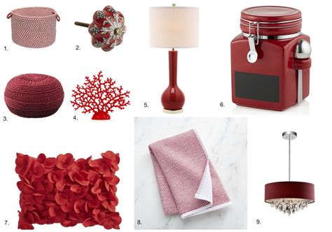 red home decor accessories 28 red home decor accessories 8 quot red rose