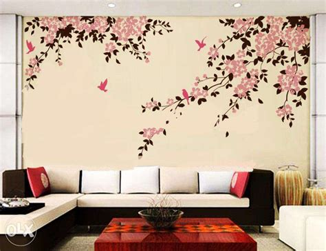 Wall Designs For Bedrooms Wall Painting Designs For Bedroom Decoration Ideas Information About Home Interior And