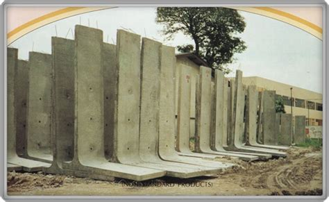 Wall L by L Shape Retaining Wall Units