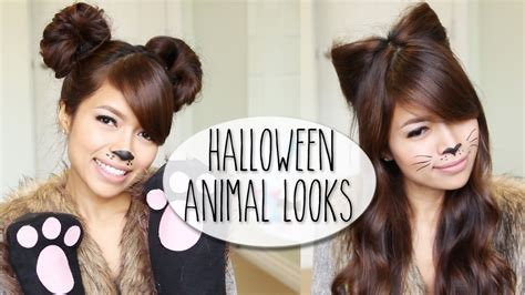 Diy Halloween Costume Ideas Bear Cat Ears Hairstyle | diy halloween costume ideas bear cat ears hairstyle