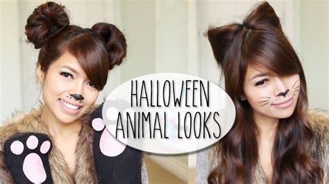 diy halloween costume ideas bear cat ears hairstyle
