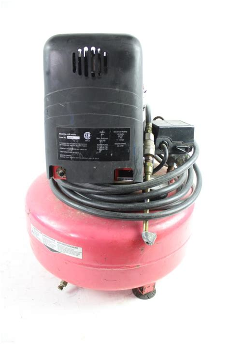 craftsman 2 hp 6 gallon air compressor property room