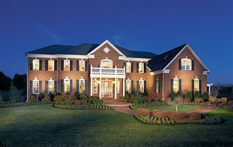 estate homes estates at hilltown luxury new homes in perkasie pa