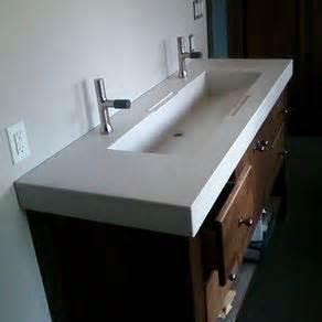Custom concrete sinks by mark podgurski