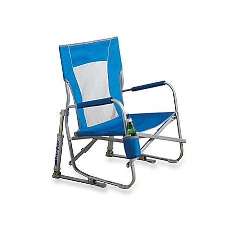 shower chair bed bath and beyond buy beach rocking chair in blue from bed bath beyond