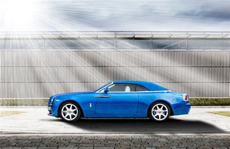 rolls royce dawn blue rolls royce collector michael fux picks up a special dawn
