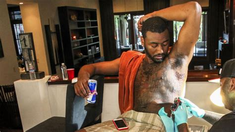 john wall s tattoos tell his life story nba sporting news