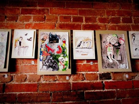 art show at lili coffee shop sema