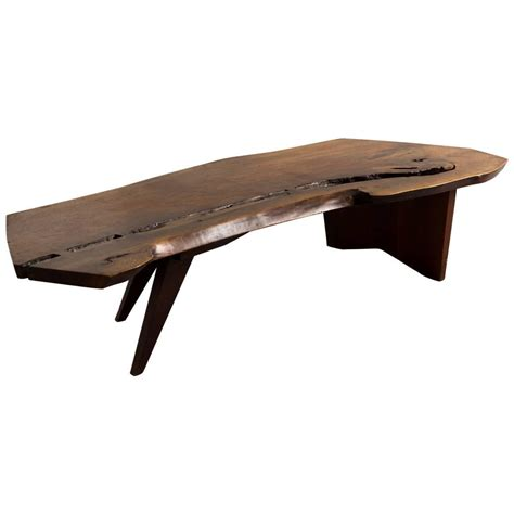george nakashima coffee table george nakashima coffee table 1960s for sale at 1stdibs