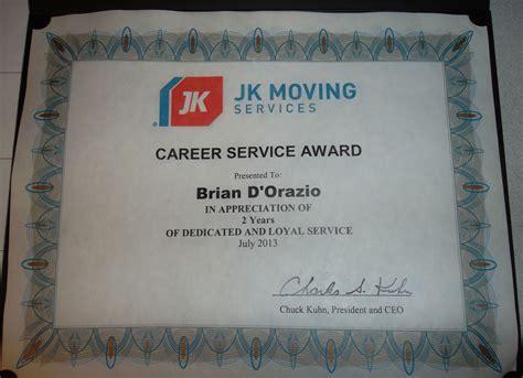 service career career service awards jk moving services