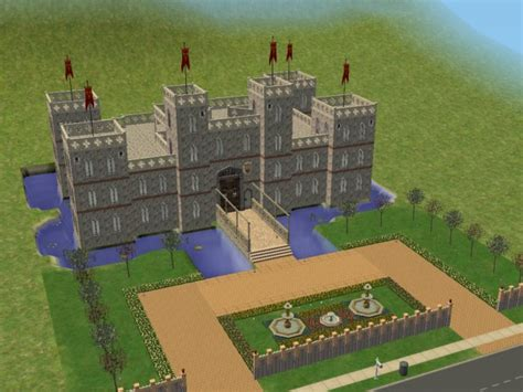 sims 4 medieval castle mod the sims estate of nobility furnished and