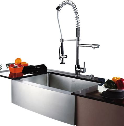 kraus single lever pull out kitchen faucet contemporary kraus single lever pull out kitchen faucet chrome modern
