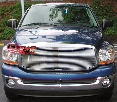 2006 dodge ram billet grille 2006 2008 dodge ram stainless steel wide bar billet