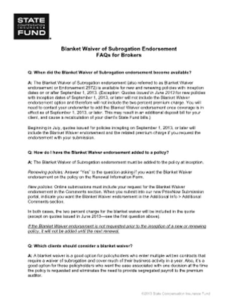 blanket certification letter endorsement form sle fill printable fillable