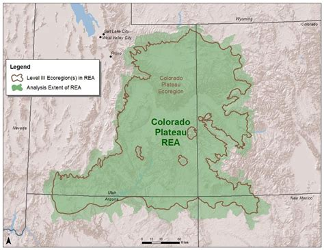 Colorado Plateau Map by Colorado Plateau Rea Map