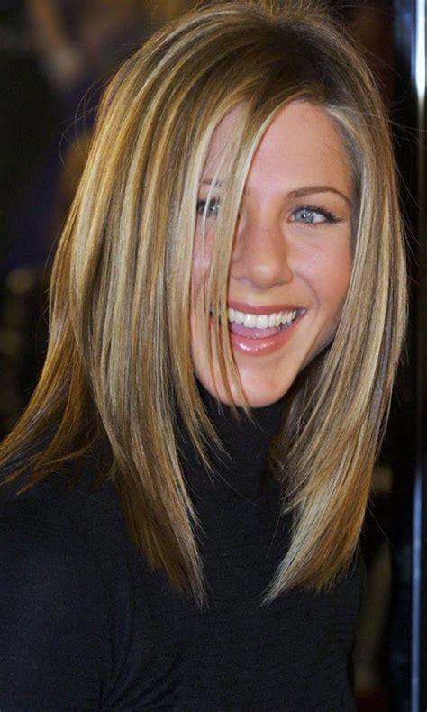 actress long layer haircut jennifer aniston layered haircut