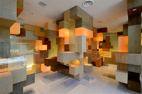 Interior Layout And Furnishings Crossword Clue | mind boggling puzzle space by tatsu matsuda architects