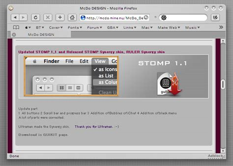 firefox themes safari stomp safari 1 1 for firefox by sky1983628 on deviantart