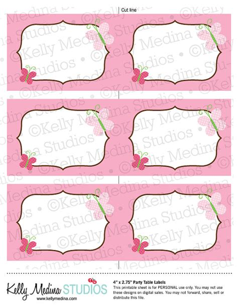printable butterfly name tags 8 best images of butterfly labels printable butterfly