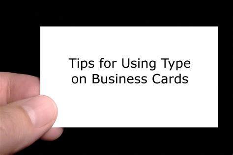tips for business cards business card font tips images card design and card template