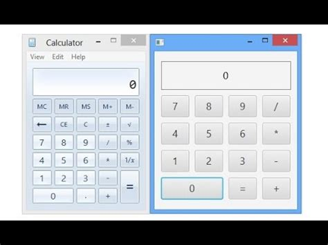 calculator program in java using swing in netbeans java programming tutorial beautiful calculator design