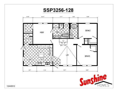 sunshine homes floor plans sunshine mobile homes floor plans luxury 15 best sunshine manufactured homes images on pinterest