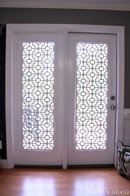 top five diy patio door window treatments