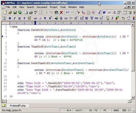 php datediff format โปรพอประมาณ php datediff time diff ฟ งก ช นเก ยวก บ