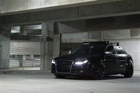 murdered out audi a4 blacked out audi a4 black audi a4 pinterest