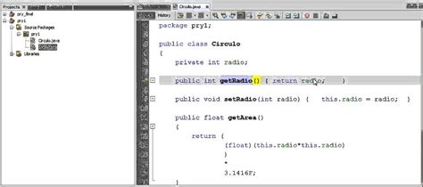 Tutorial Java Y Netbeans | tutorial java netbeans 7 2 1 m 233 todos get y set youtube