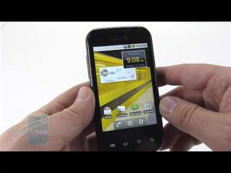 Lg Rumor Touch Video Clips Phonearena