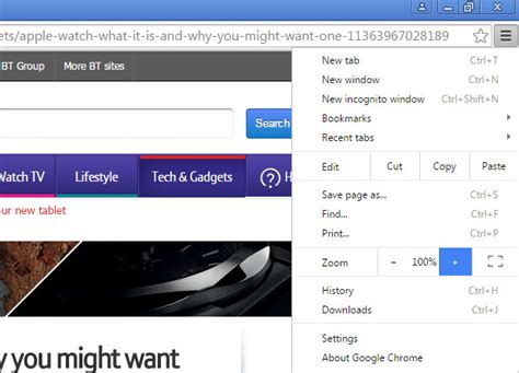 chrome zoom how to make text more readable in any web browser bt