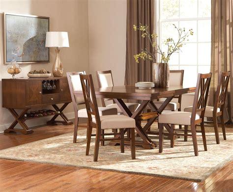garrison medium cherry wood dining table steal  sofa