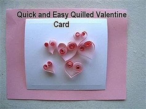 how to make a card at home card diy quilled hearts card how to