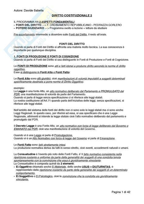 dispensa diritto costituzionale concetti appunti di diritto costituzionale 2