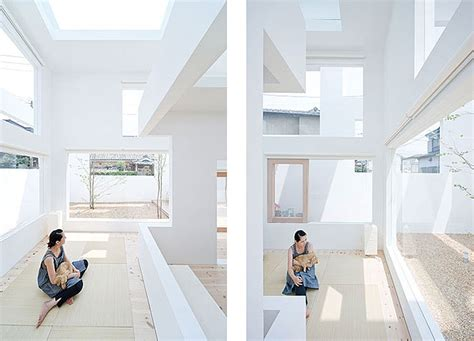 Modern Minimalist Houses by House N By Sou Fujimoto Architects Homedsgn