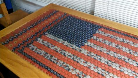 beer cap bar top bottle cap table 1700 caps with lights that pulse to
