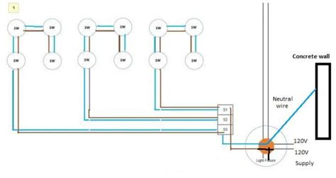 recessed can light wiring diagram