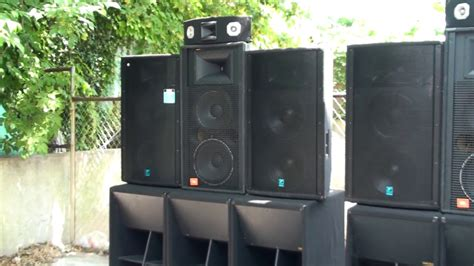 Jbl Profesional jbl and yorkville professional sound