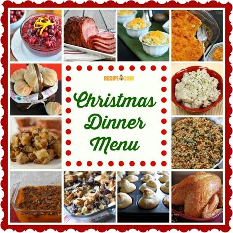 17 christmas menu ideas on pinterest christmas side dishes christmas dinner side dishes and