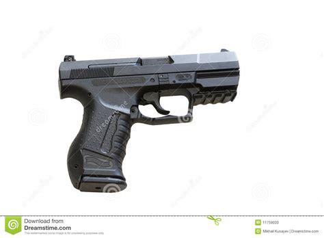Etl Time Et With Walter walther p99 est un pistolet semi automatique photos stock