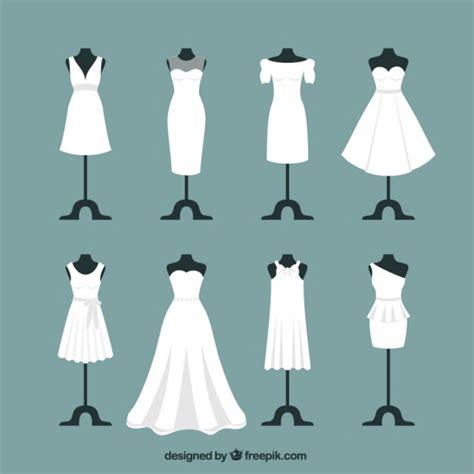 Wedding Dress Vector by Wedding Dresses Vector Premium