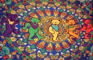grateful dead decor hippie room decor archives hippies