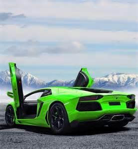Cool Lamborghini Aventador Cool Lamborghini Aventador In Green What Do