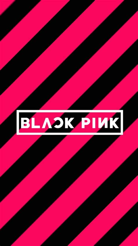 blackpink logo wallpaper yg lockscreen world on twitter quot 290616 black pink phone